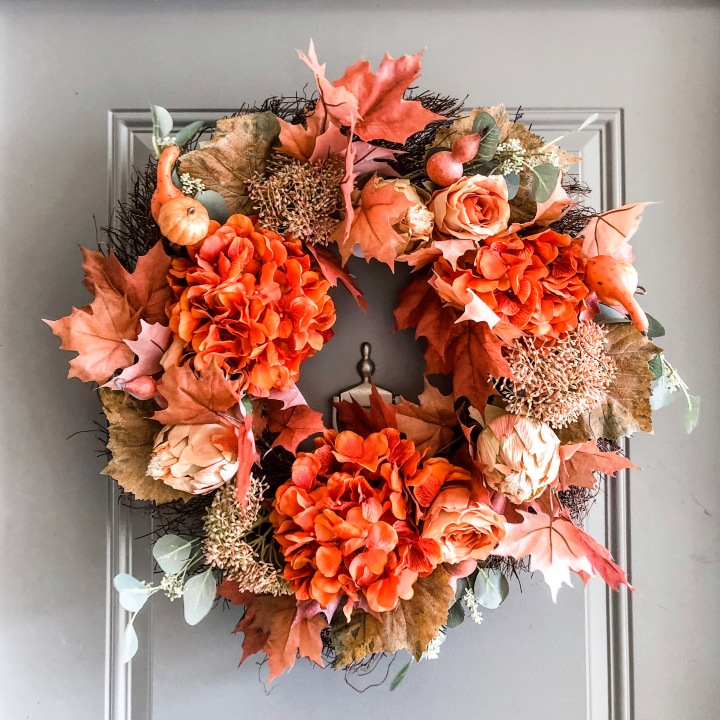 15 Budget-Friendly Fall Wreaths