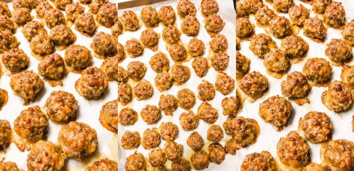 Cheesy Bisquick SausageBalls