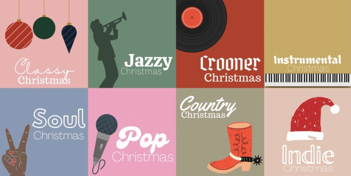 My Spotify Christmas Playlists