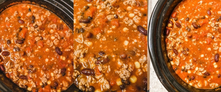 Crockpot Turkey Taco Chili